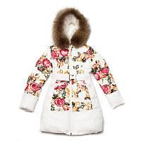 пальто   Kiko 3356 для девочки в наличии размер 164