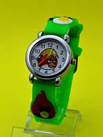 """Детские наручные часы с силиконовым ремешком """"Птичий остров"""""""