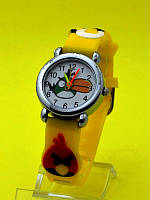"""Детские наручные часы с силиконовым ремешком """"Птичьи каникулы"""""""