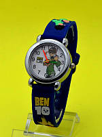 """Детские наручные часы с силиконовым ремешком """"Ben 10 каникулы"""""""
