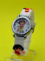 """Детские наручные часы с силиконовым ремешком """"Dora подружка"""""""