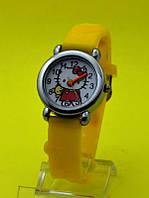 """Детские наручные часы с силиконовым ремешком """"Hello Kitty игрушка"""""""