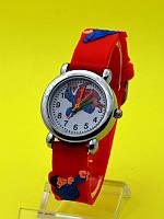 """Детские наручные часы с силиконовым ремешком """"Super Man Криптон"""""""