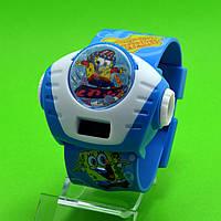"""Детские наручные часы """"Губка Боб на скейте"""""""