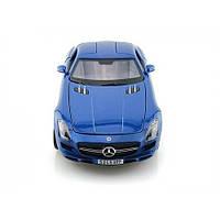 MAISTO Автомодель (1:18) Mercedes-Benz SLS AMG синий металлик, фото 1