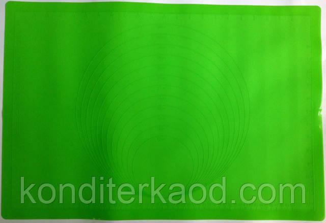 Силиконовый коврик с разметкой  61 на 41,5 см