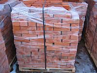 Кирпич красный рядовой на поддонах (по 500 шт)