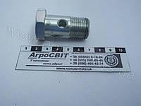 """Болт-штуцер BSP 1/2"""" х 38 (под 1 наконечник) дюймовый, 1600-00-08"""