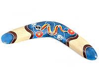 Бумеранг деревянный расписной