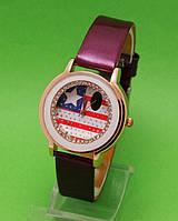 """Женские наручные часы с золотым корпусом """"Американка"""""""