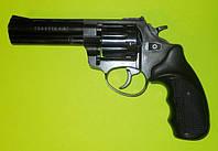 Револьвер под патрон Флобера Trooper 4.5 black пластик