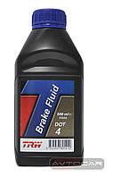 Тормозная жидкость TRW DOT4 ✔ 0,5 л.