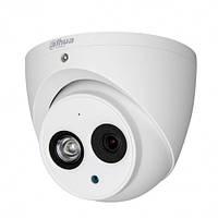 Купольная HDCVI камера Dahua HAC-HDW2401EMP, 4Мп