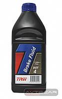 Тормозная жидкость TRW DOT4 ✔ 1 л.