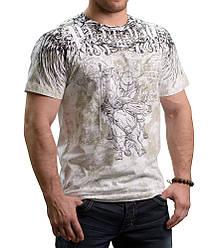 Футболка белая с принтом Peresvit Musashi T-shirt