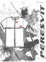 Футболка черная с принтом Peresvit Musashi T-shirt, фото 3