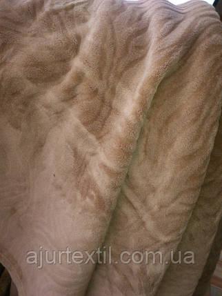 "Плед ""Комфорт"" коричневый, фото 2"