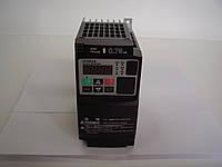 Преобразователь частоты HITACHI WL200-007SF, 0.75кВт, 3.5A, 220В. Вольт-частотный. Mini-USB, PLC.