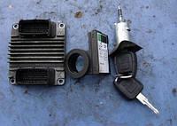 Блок управления двигателем комплект ( ЭБУ )OpelAstra G 1.61998-2005DPAB, 09353489, engine controller HSFI-