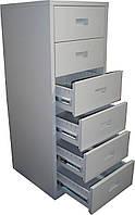 Шкаф картотечный металлический Н006