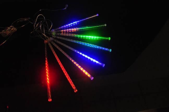 """Гирлянда """"Разноцветные сосульки"""" 50 см, фото 2"""