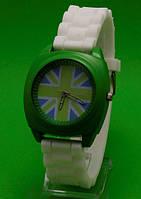 Женские часы с силиконовым ремешком-5048
