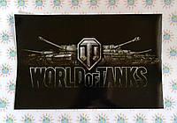 Наклейка на ноутбук. World of tanks