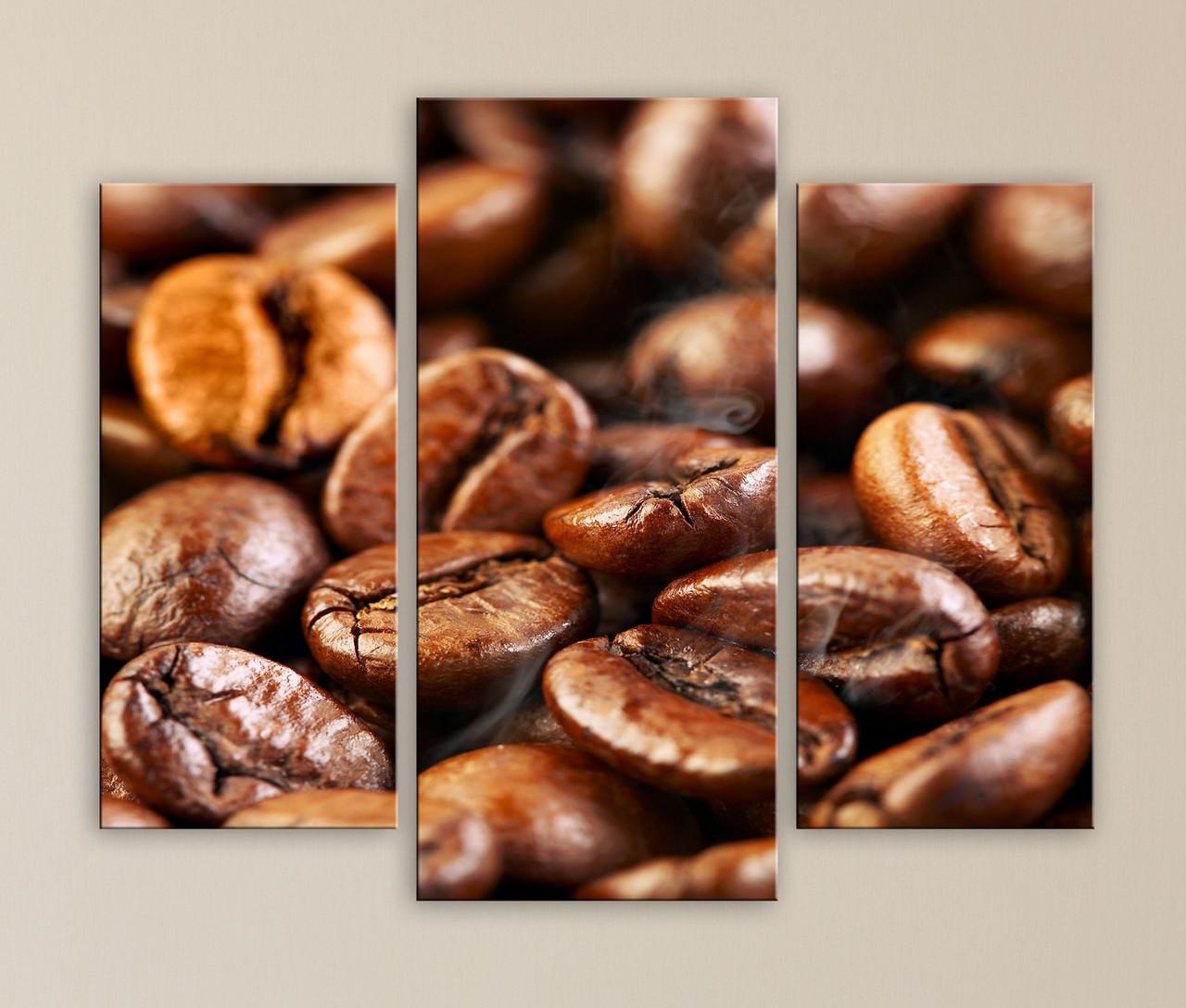 Модульная картина Ароматный кофе - ВСЕВОДНОМ в Киеве