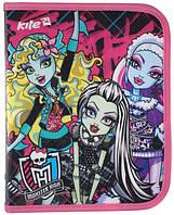 Папка объемная  на молнии B5 Монстер хай (Monster High)