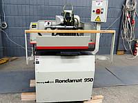 Weinig Rondamat 950 бу станок для заточки прямых и профильных пластин +приспособление для установки ножей