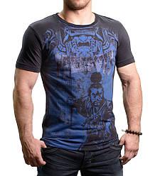 Футболка черная с принтом Peresvit Musashi T-shirt