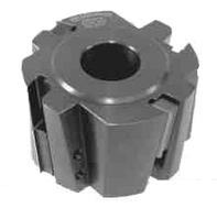 Фрезы цилиндрические сборные , с механическим креплен т/с ножей (Ceratizit) для обработки ламинированых плит 125х32(40)х56х 2+2