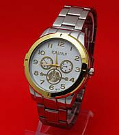 """Мужские наручные часы с металлическим браслетом """"Октавио"""""""