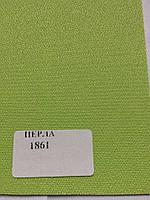 Рулонная штора Перла зеленая