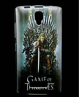 Чехол накладка для Lenovo A2010 силиконовый с рисунком, Game of Thrones Stark