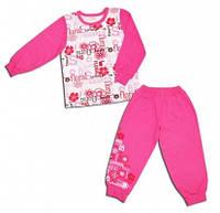 Пижама с начесом для девочки Флория (р.92)