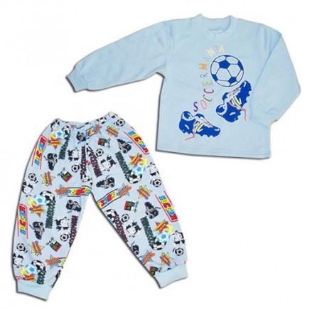 Пижама с начесом для мальчика Спорт (р.104)