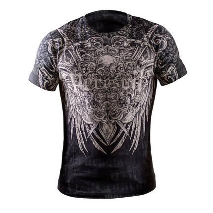Футболка черная с принтом Peresvit Musashi T-shirt, фото 2
