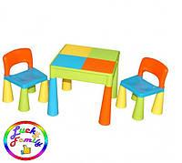 Комплект-столик и два стульчика Tega Mamut Multi TM-002