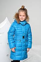Зимнее пальто на искусственном пуху для девочки от ТМ Baby Line