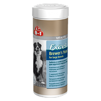 8in1 Europe Excel Brewer's Yeast for large breeds 80 таб.