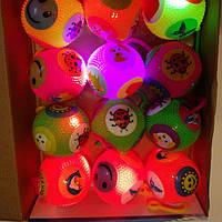 Мячик йо-йо светящийся пищащий