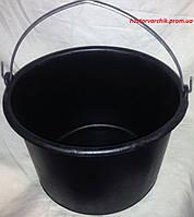 Ведро полиэтиленовое 12 литров строительное /Украина/