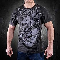 Футболка черная с принтом Peresvit Musashi T-shirt , фото 3