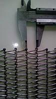 Спирально-стержневая сетка для пищевой промышленности