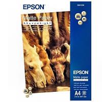 Фотобумага Epson матовая 167г/м кв, A4, 50л (C13S041256)