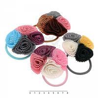 Резинки для волос детские 8 см пара