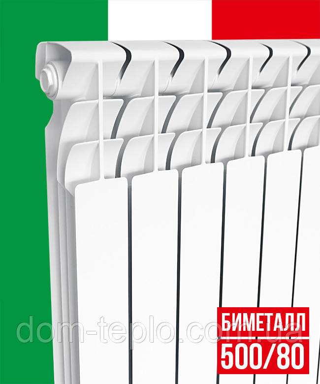 Радиатор биметаллический Italclima Ferrum 500/96 секционный