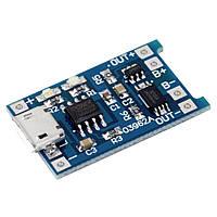 Зарядное устройство TP4056 с контролем заряда батареи 18650 DIY microUSB