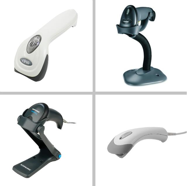 Ручные сканеры штрихкода (проводные)